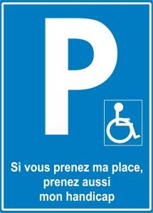 Zéro tolérance pour abus de parking des personnes handicapées