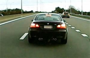 BMW-bestuurders het meest agressief